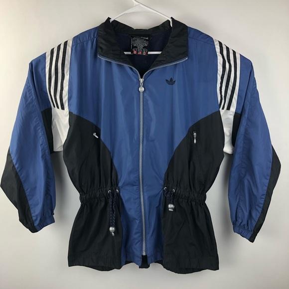 adidas Other - VTG 90's Adidas Trefoil Windbreaker Jacket Retro
